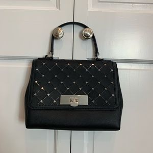 Black and Silver Michael Kors Purse